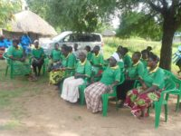 KCIU women Group meeting on microfinance