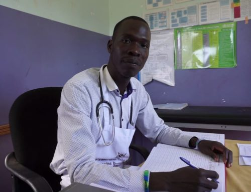 Meet Oryang Timothy our health worker week champion