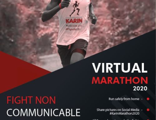 Karin Virtual Marathon and NCD testing